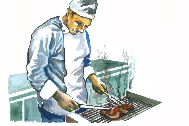 Catering grigliata
